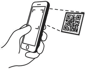 Capture mobile QR code
